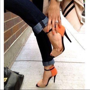Zara two tone heels